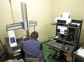 三次元測定機による検査