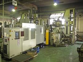ダイカストマシン鋳造工程